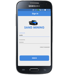 Sand Manager app